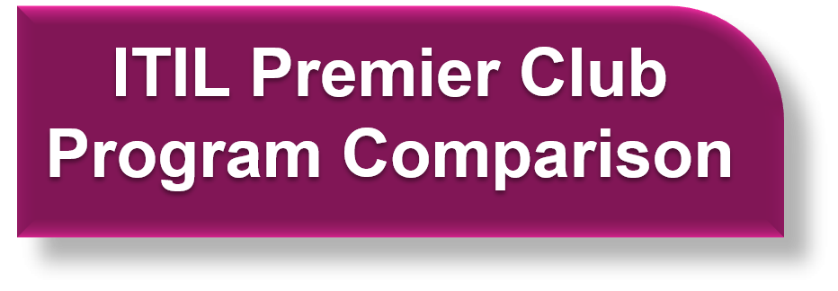 ITIL Premier Club Program Comparison